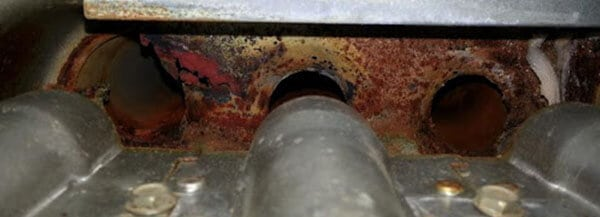 Potentially Damaged Heat Exchanger