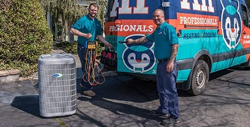 air professionals heating and air conditioning