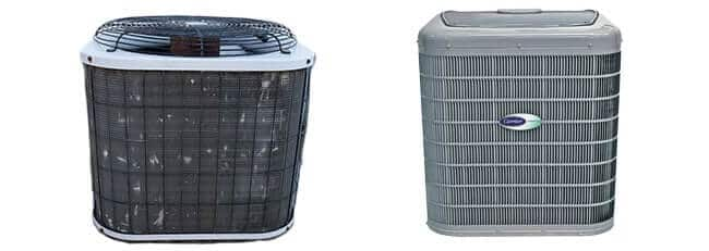 old air conditioner vs new air conditioner